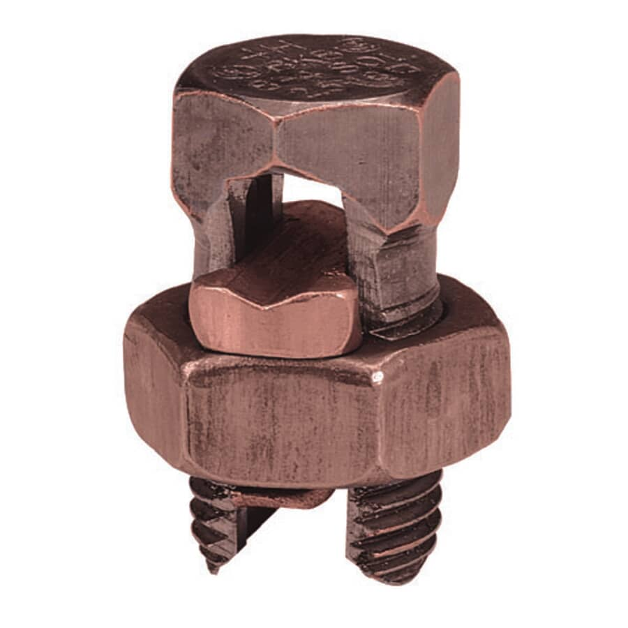 MICROLECTRIC:Size 2-6 Bronze Split Bolt Connector