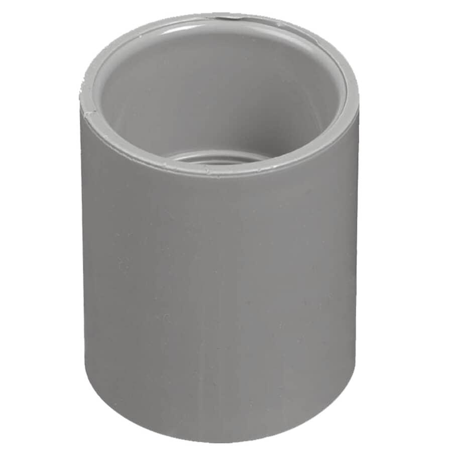 "CARLON:Schedule 40 PVC Coupling - 1-1/2"""