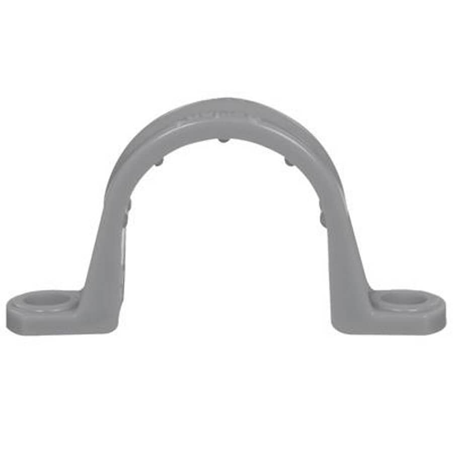 "CARLON:100 Box 1/2"" 2 Hole PVC Conduit Clamps"