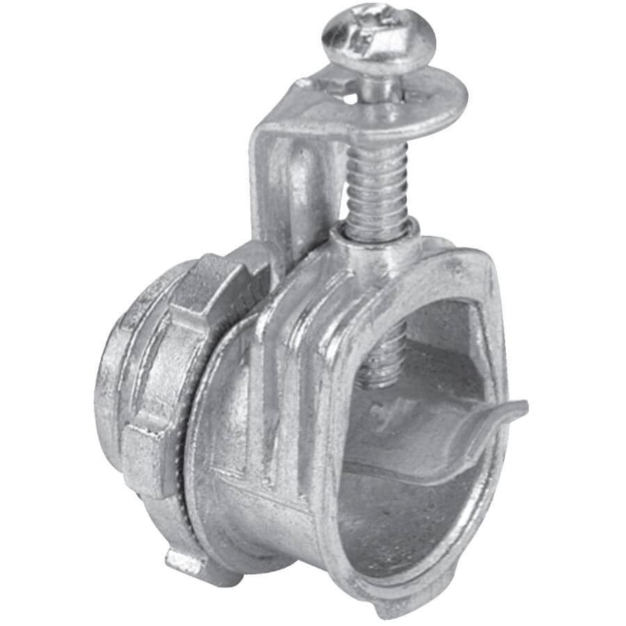 """IBERVILLE:100 Pack 3/8"""" (1/2""""KO) Saddle Cable Connectors"""