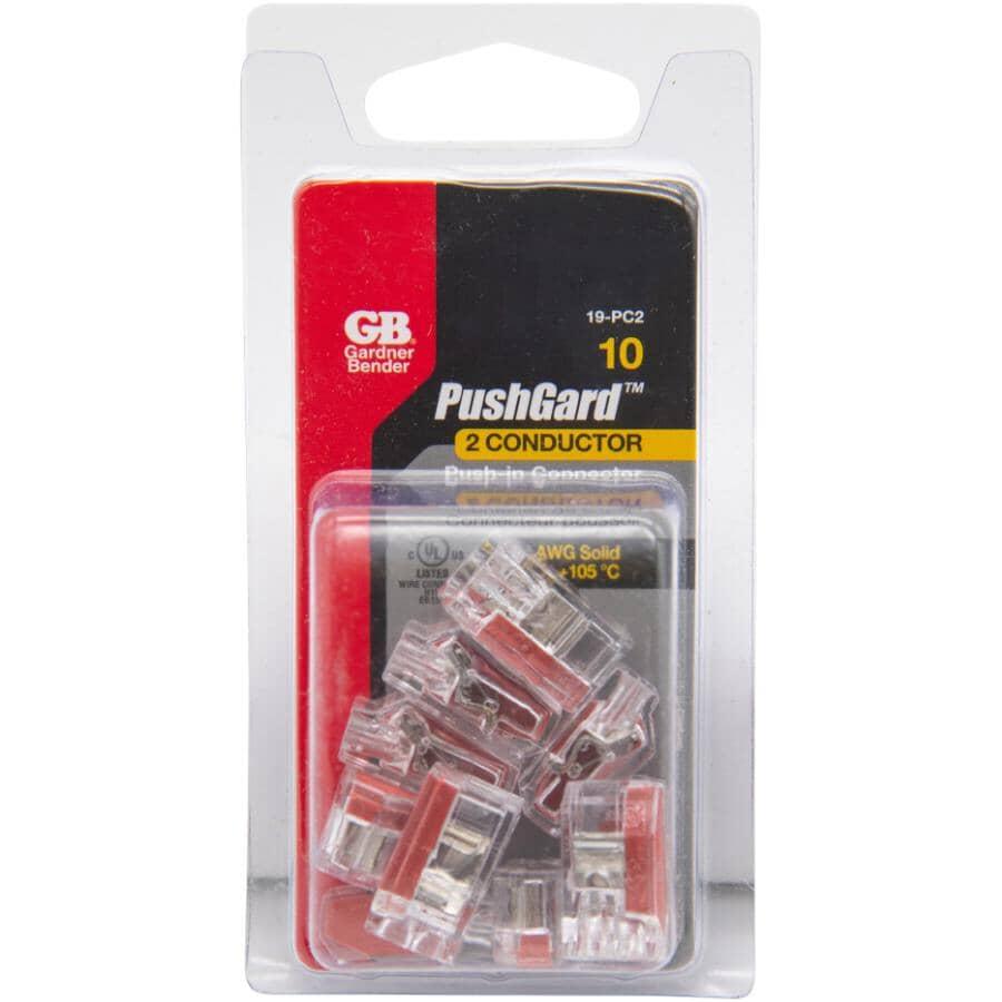 GARDNER BENDER:10 Pack 2 Port Push-In Wire Connectors