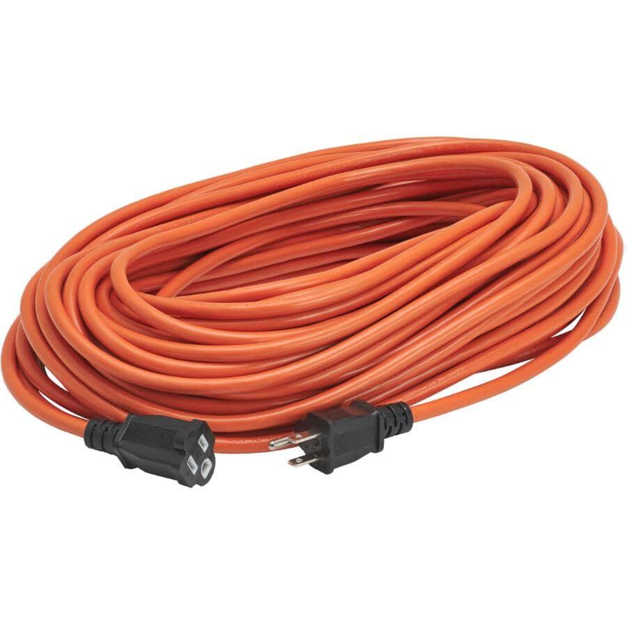 POWER EXTENDER:SJTW Orange Outdoor Extension Cord - 30 m