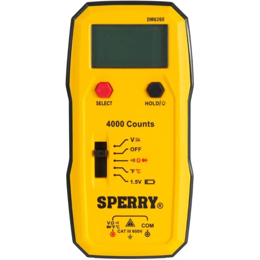 SPERRY INSTRUMENTS:19 Range Digital Multimeter