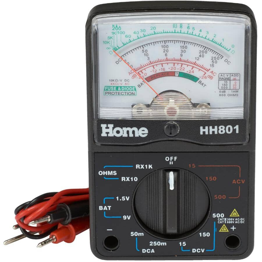 HOME ELECTRIC:Multi Tester