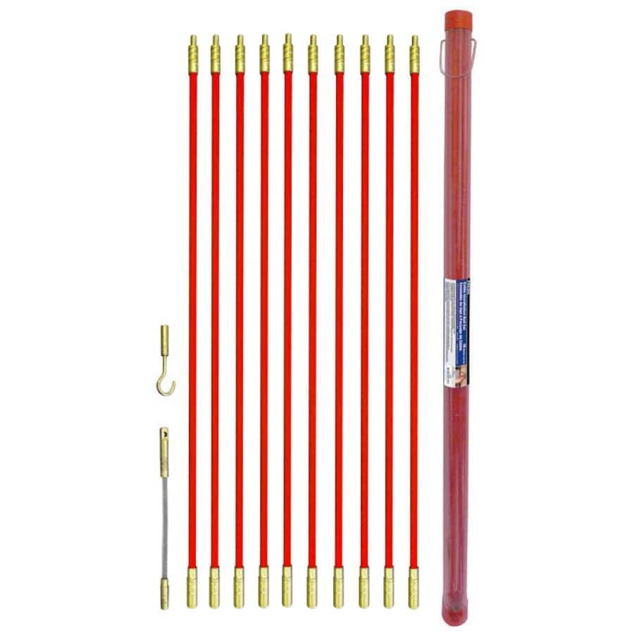 ROK:12 Piece 10m Cable Rod Set
