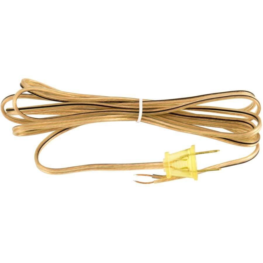 ETLIN DANIELS:Cordon doré de 8 pi pour lampe