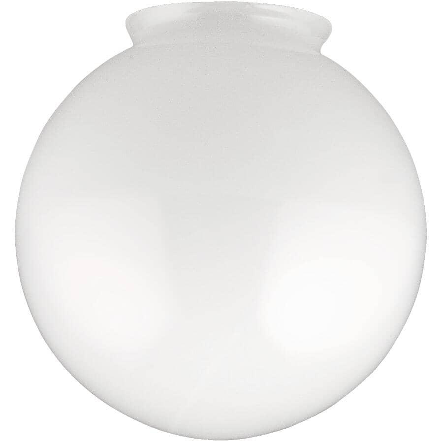 "GALAXY:6"" x 3-1/4"" White Replacement Globe"