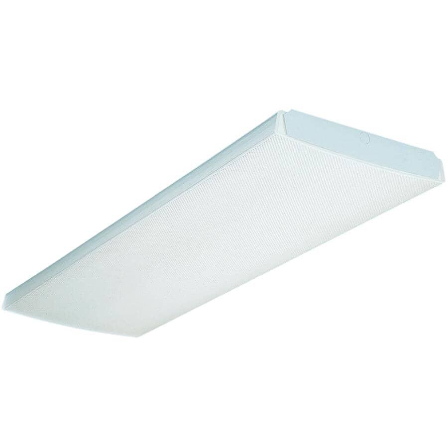 "LITHONIA:32W T8 4 x 48"" Fluorescent Wrap Light Fixture"