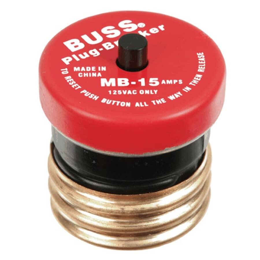 BUSSMANN:15 Amp Mini Breaker Fuse