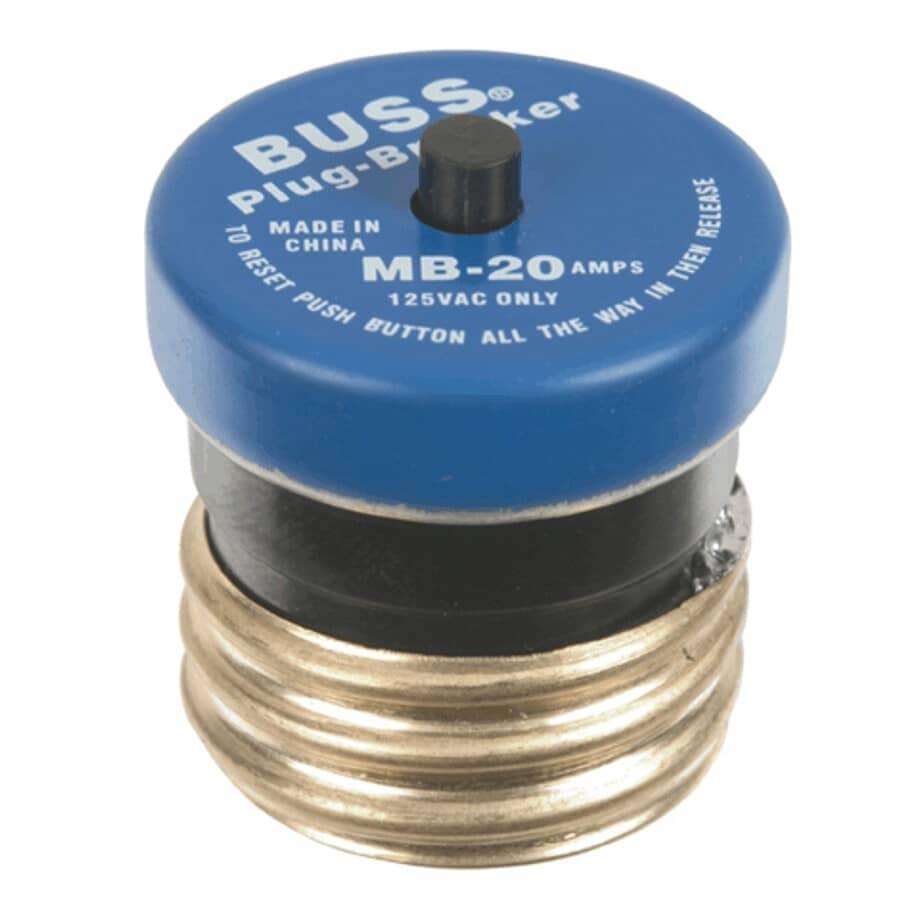 BUSSMANN:20 Amp Mini Breaker Fuse