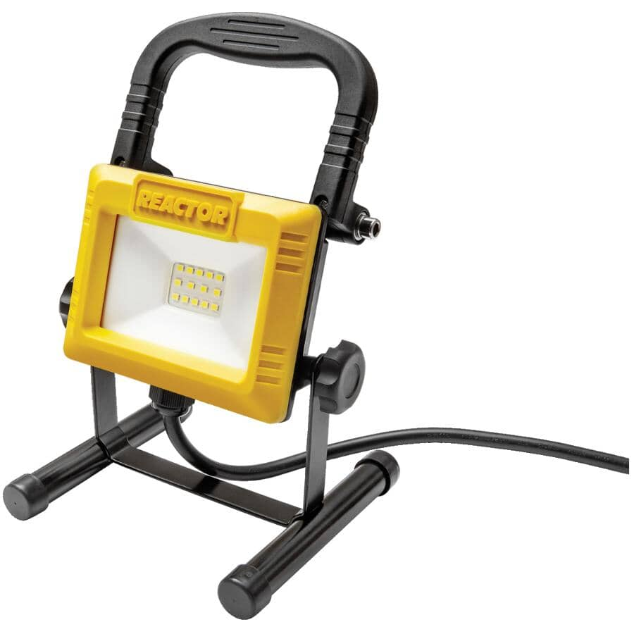 REACTOR:10 Watt LED Work Light - with Portable Stand