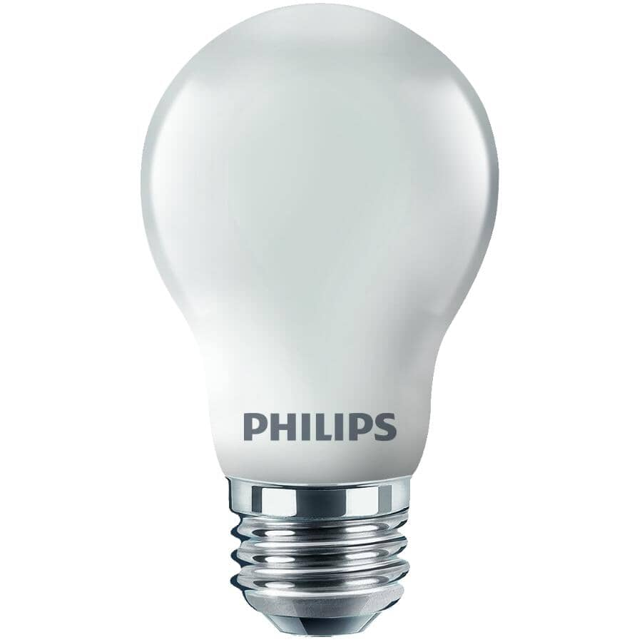 PHILIPS:2 Pack 40W A15 Medium Base Frosted Appliance Light Bulbs