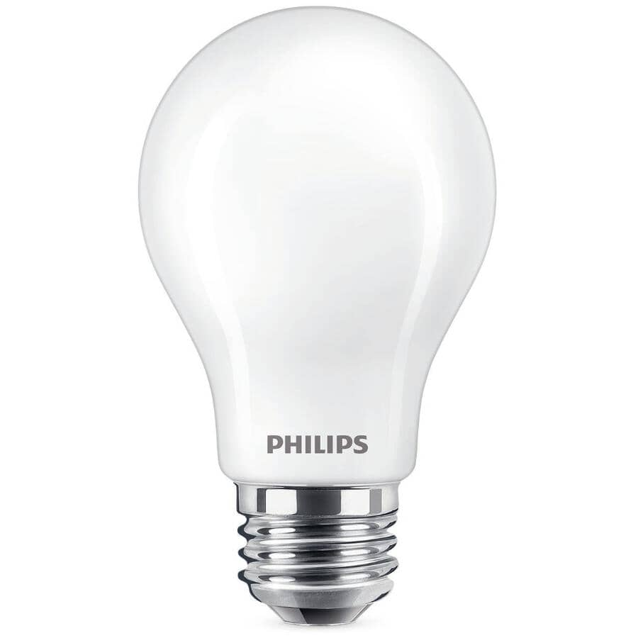 PHILIPS:9.5W A19 Medium Base Soft White Warm Glow Dimmable LED Light Bulb