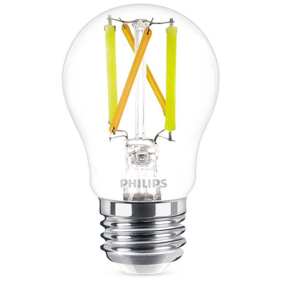 PHILIPS:4.5W A15 Medium Base Soft White Dimmable LED Light Bulb