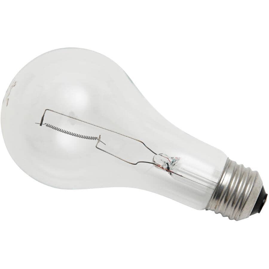 OSRAM SYLVANIA:200W A21 Medium Base Clear Light Bulb