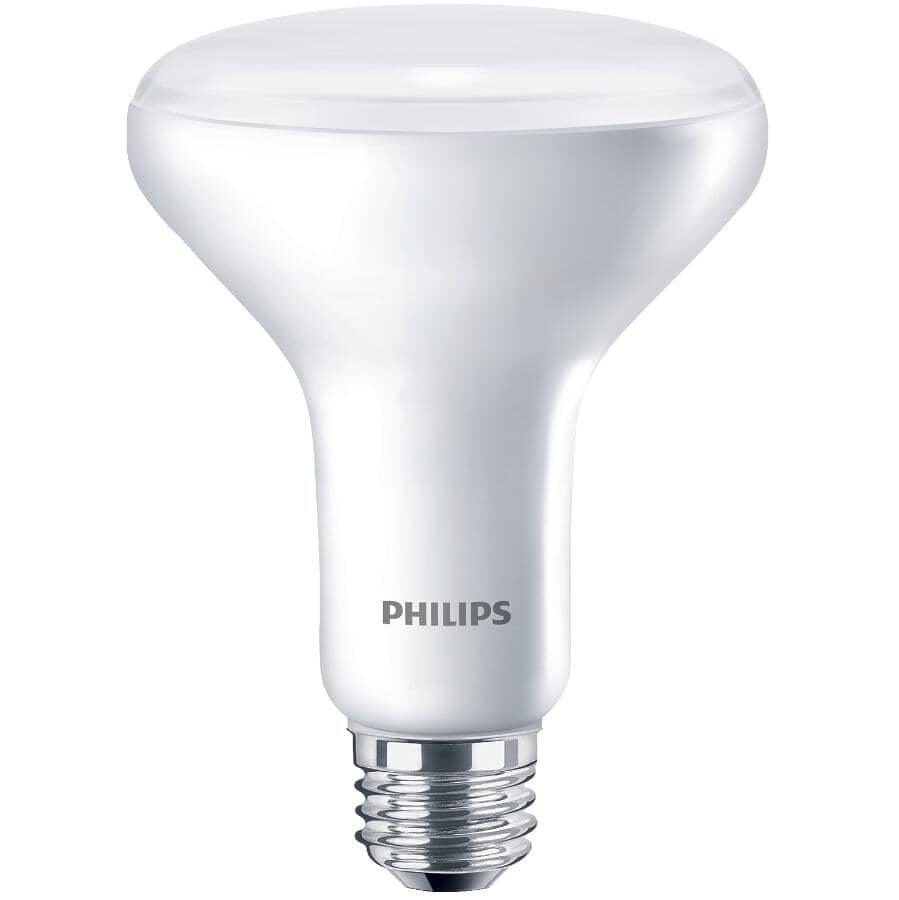 PHILIPS:9W BR30 Medium Base Non-Dimmable LED Light Bulbs - Soft White, 4 Pack