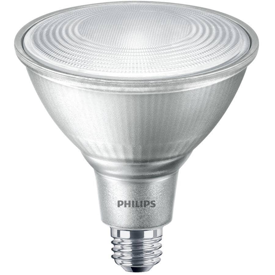 PHILIPS:13.5W PAR38 Medium Base Bright White Glass LED Light Bulb
