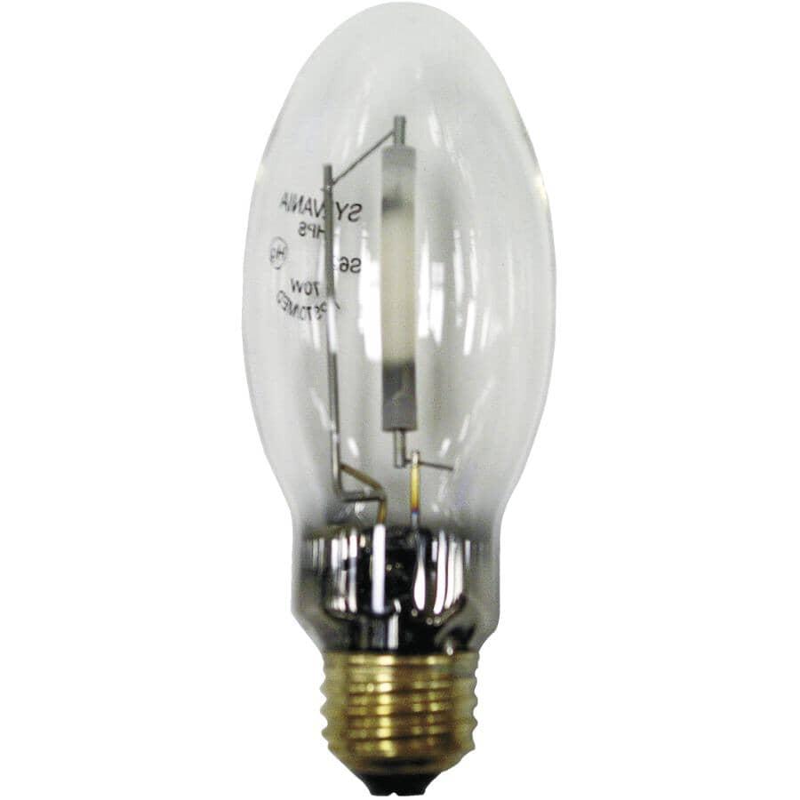 OSRAM SYLVANIA:70W BD17 Medium Base High Intensity Discharge High Pressure Sodium Clear Light Bulb