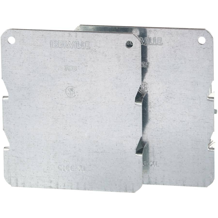 IBERVILLE:2 Pack Extra Large Cable Protector Plates for Wood Stud