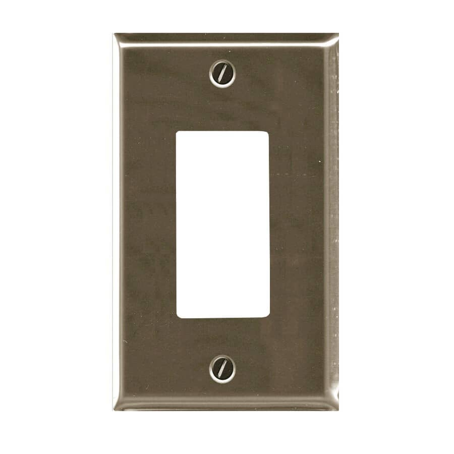 ATRON:1 Device Brushed Nickel Switch Plate