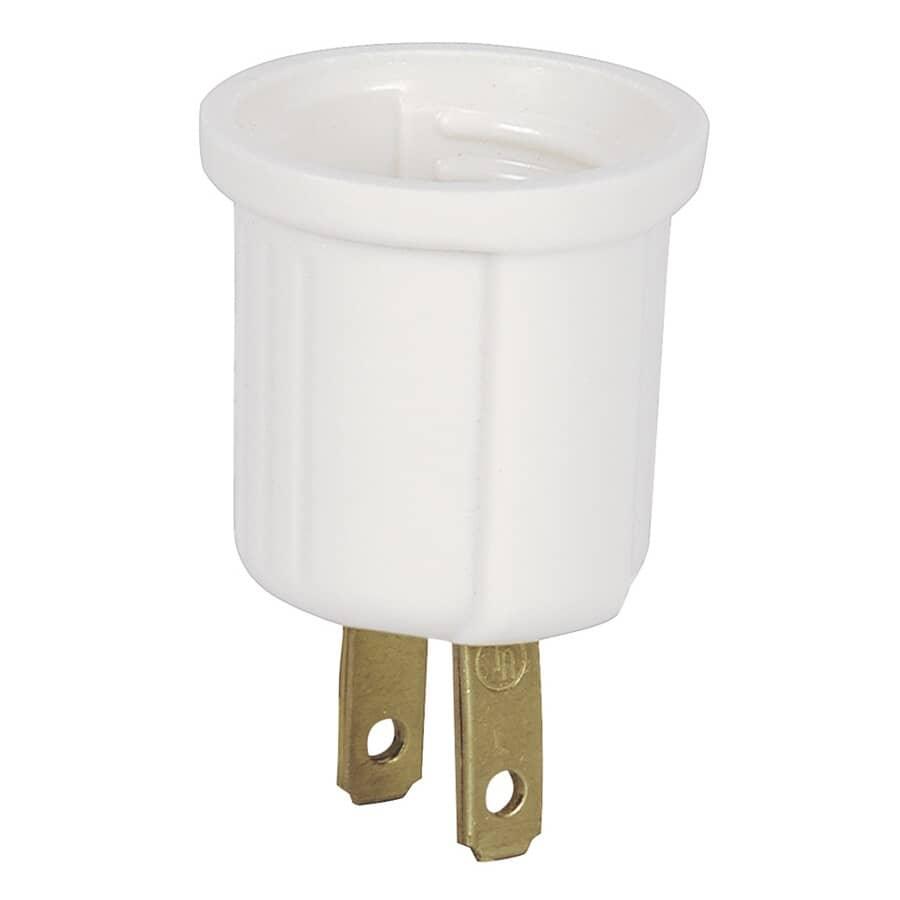EATON:White Plug-In Light Socket