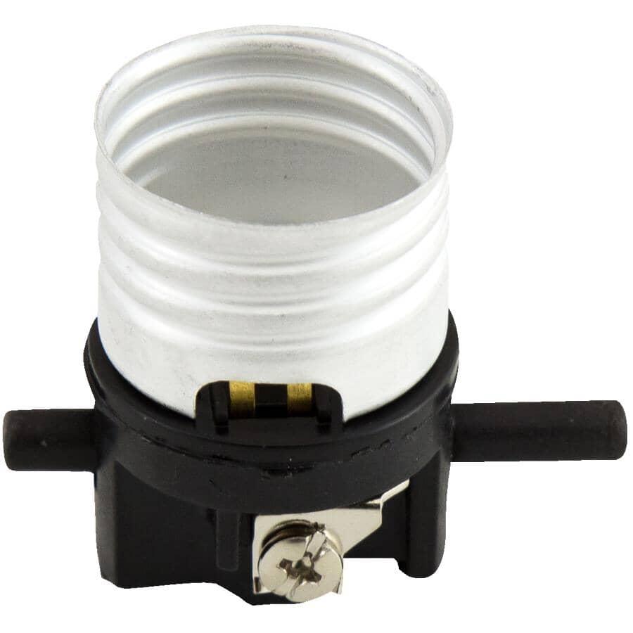 ETLIN DANIELS:Douille de lampe avec interrupteur poussoir, pour l'intérieur