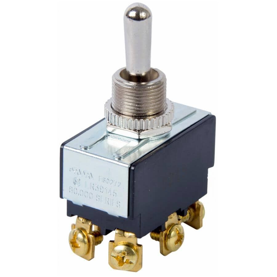 GARDNER BENDER:Double Pole Double Throw Toggle Canopy Switch