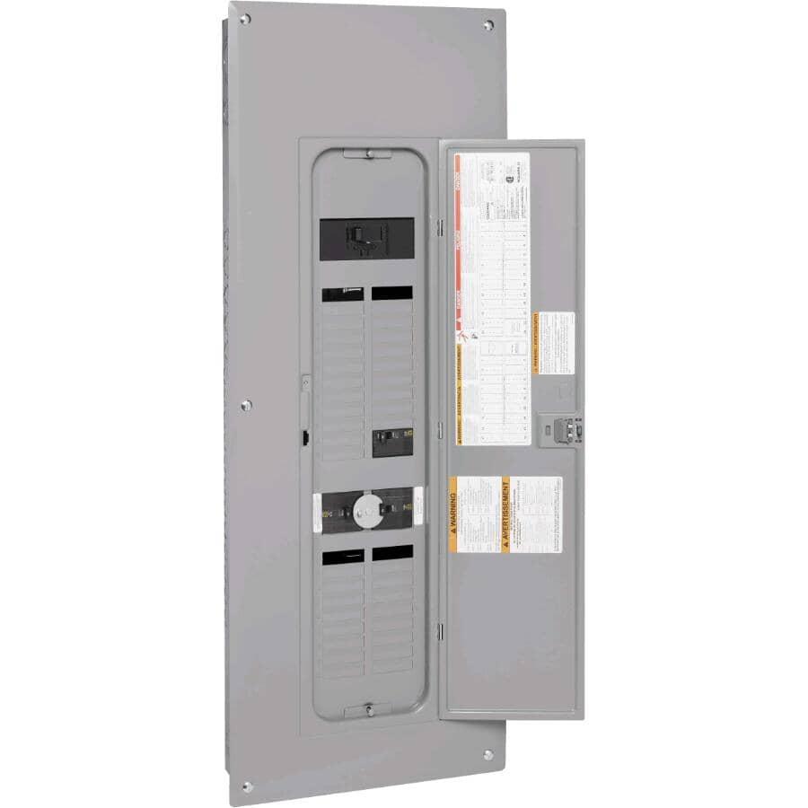 SQUARE D:Panneau de génératrice de 200 A et 80 circuits avec 36 circuits secondaires