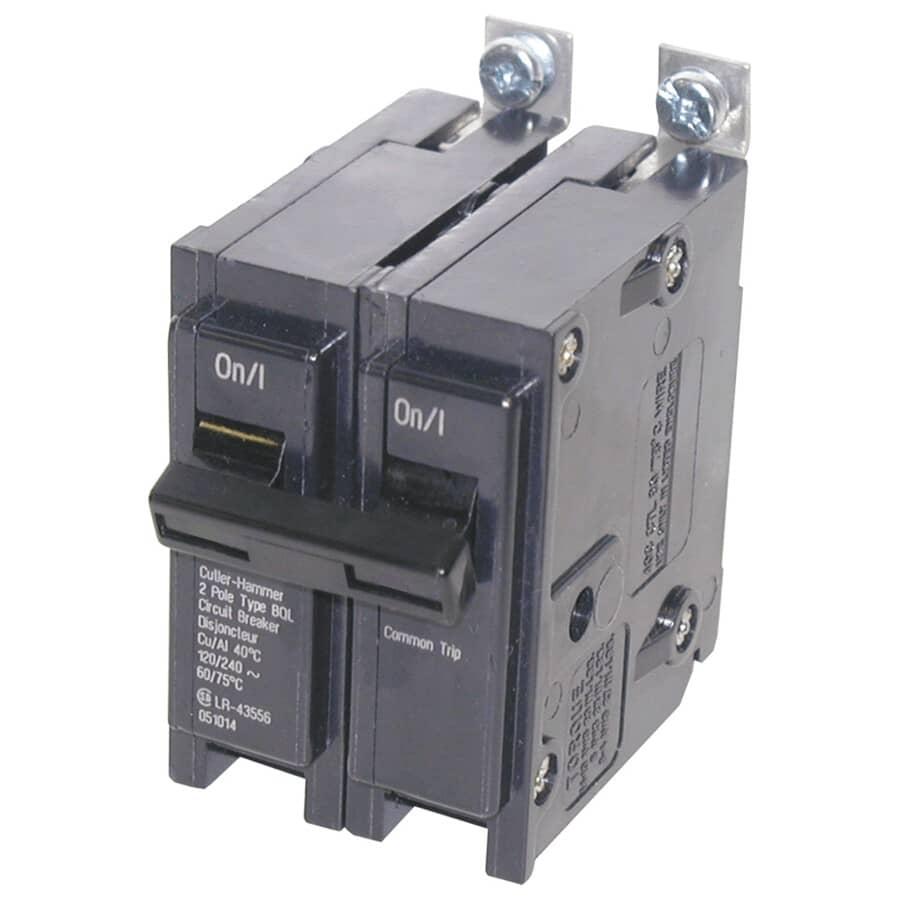 EATON:2 Pole 15 Amp Circuit Breaker