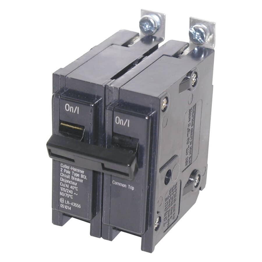 EATON:2 Pole 30 Amp Circuit Breaker