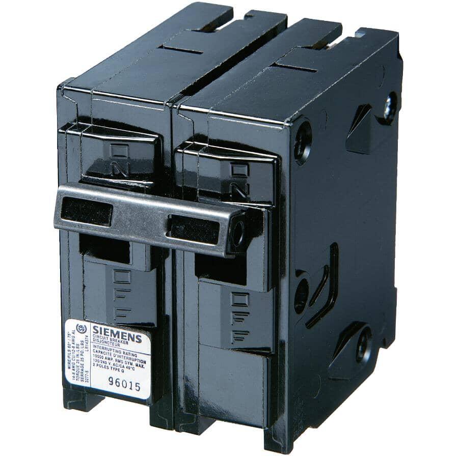 SIEMENS:2 Pole 40 Amp Circuit Breaker - 240V