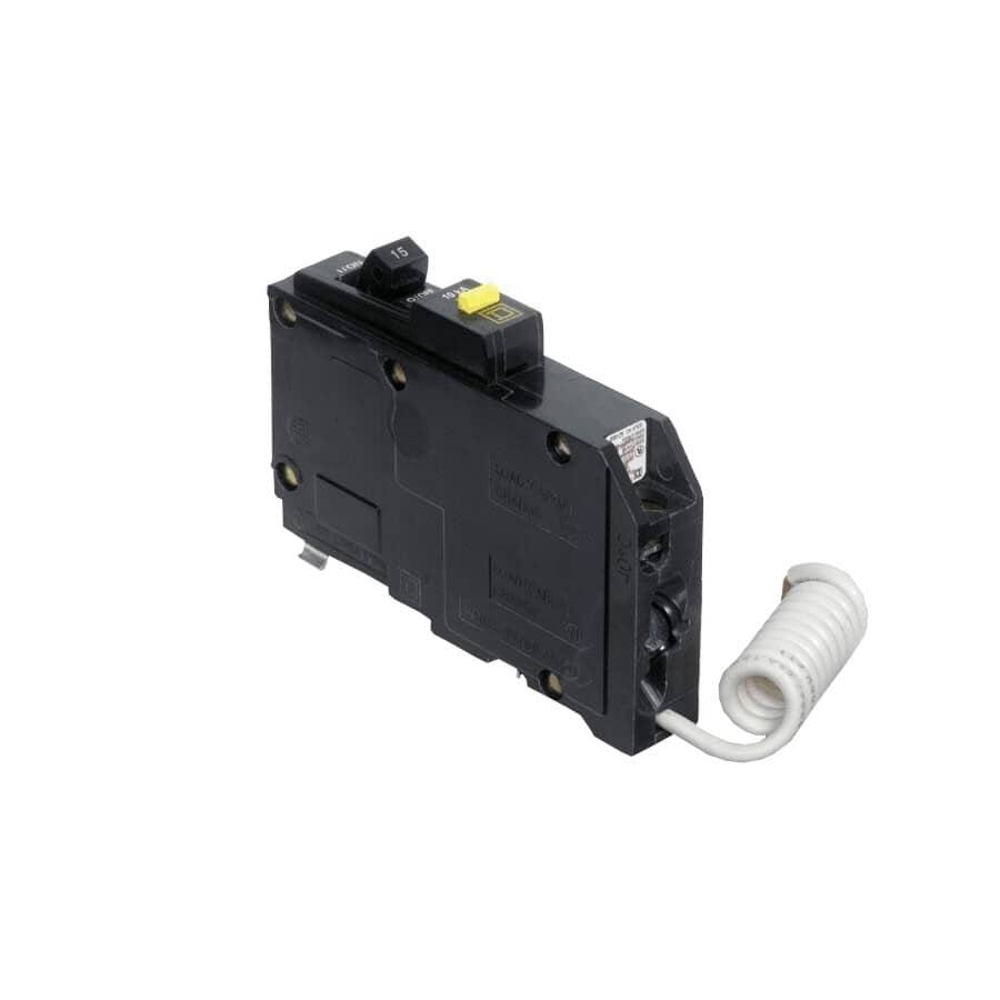 SQUARE D:Disjoncteur unipolaire DDFT de 15 A