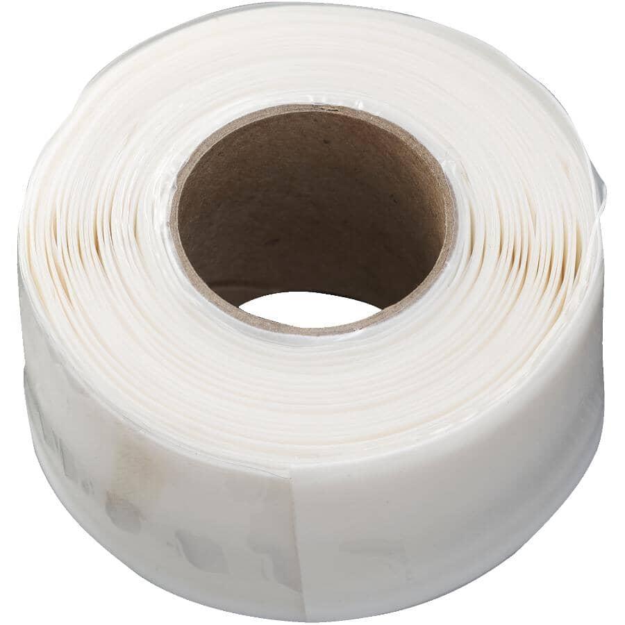 "CANTECH:FusionPro Self Fusing Silicone Tape - White, 1"" x 10'"