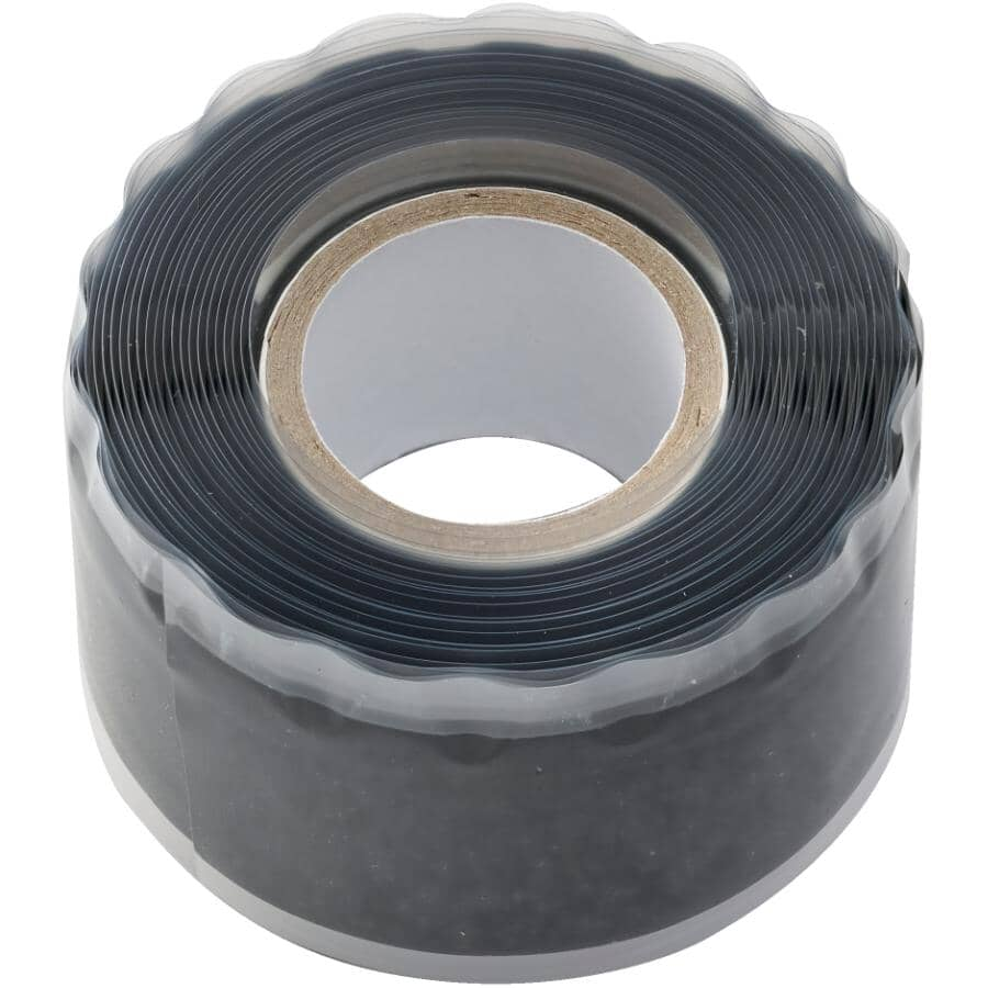 """PROFESSIONAL:1"""" X 10' Stretch and Seal Temperature Resistant Self Fusing Silicone Tape"""