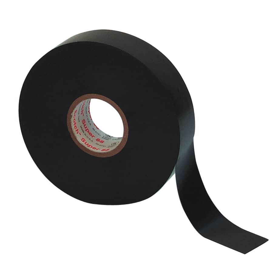 SCOTCH:Ruban vinyle électrique robuste de 3/4 po x 66 pi