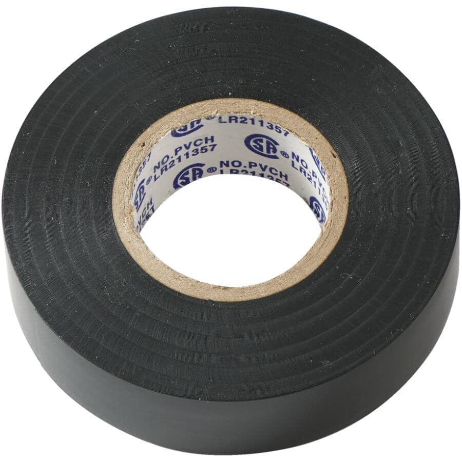 """HOME ELECTRIC:3/4"""" x 60' Electrical Tape Weather Resistant to Minus 18 Degrees"""