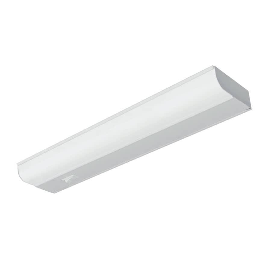 GOOD EARTH LIGHTING:Luminaire fluorescent T8 enfichable de 24 po, métal