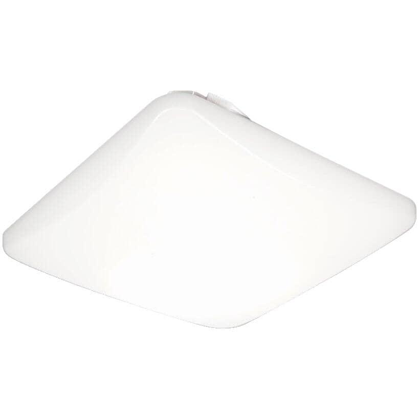 """LITHONIA:24W 15"""" Square LED Flush Light Fixture"""