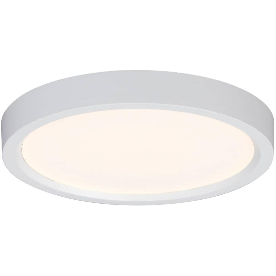 GALAXY:10W White Slimline LED Flush Light Fixture