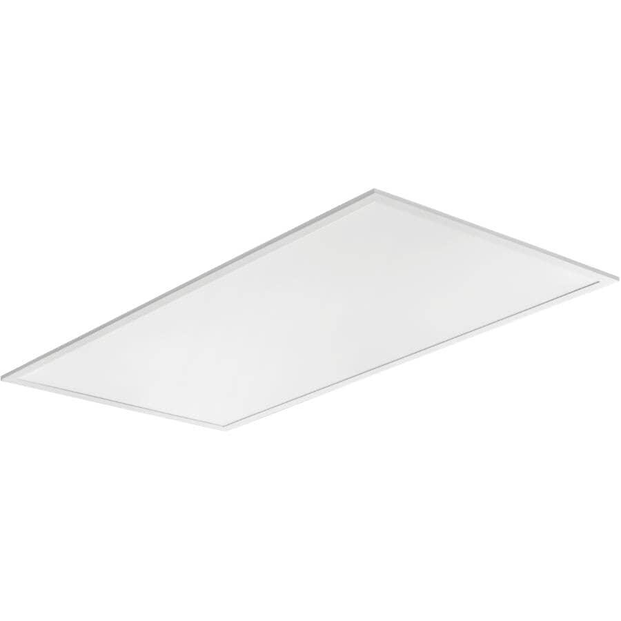 LITHONIA:Flat LED Panel Light Fixture - 2' x 4'