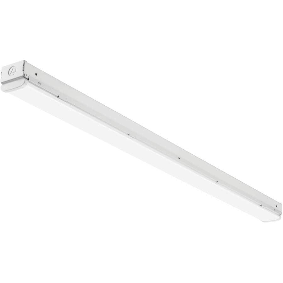 """LITHONIA:LED Strip Light Fixture - 2 Tube, 48"""""""