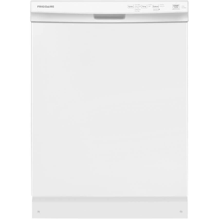 "FRIGIDAIRE:24"" White Built-In Dishwasher"