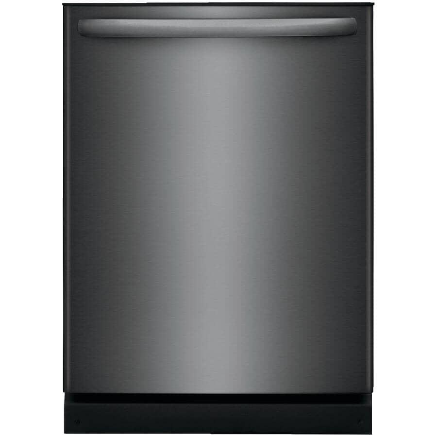 "FRIGIDAIRE:24"" Black Stainless Steel Built-In Dishwasher"