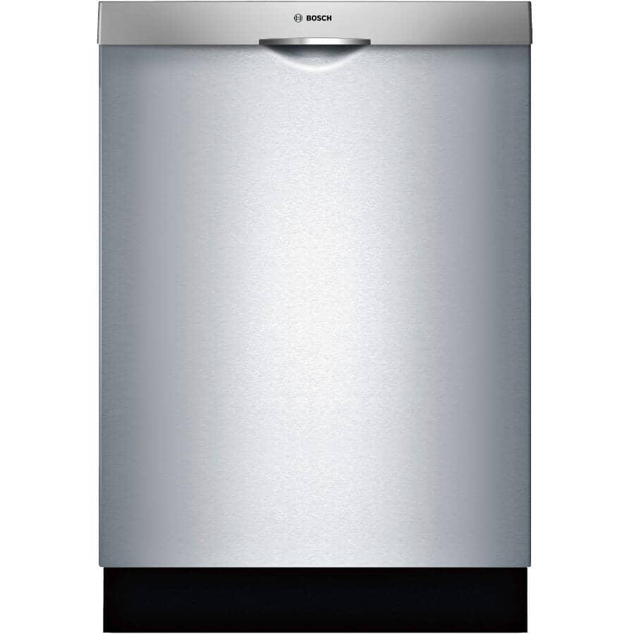 "BOSCH:100 Series Built-In Dishwasher (SHSM4AZ55N) - Top Control, Stainless Steel, 24"""