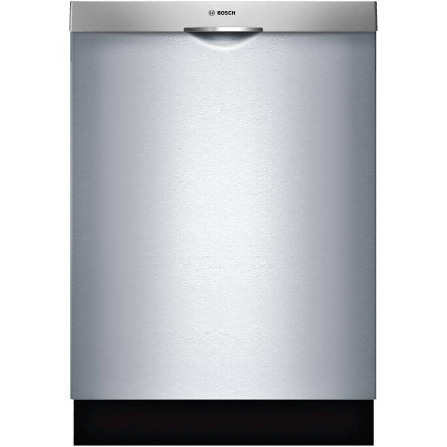 """BOSCH:300 Series 24"""" Built-In Dishwasher (SHSM53B55N) - with Top Controls, Stainless Steel"""