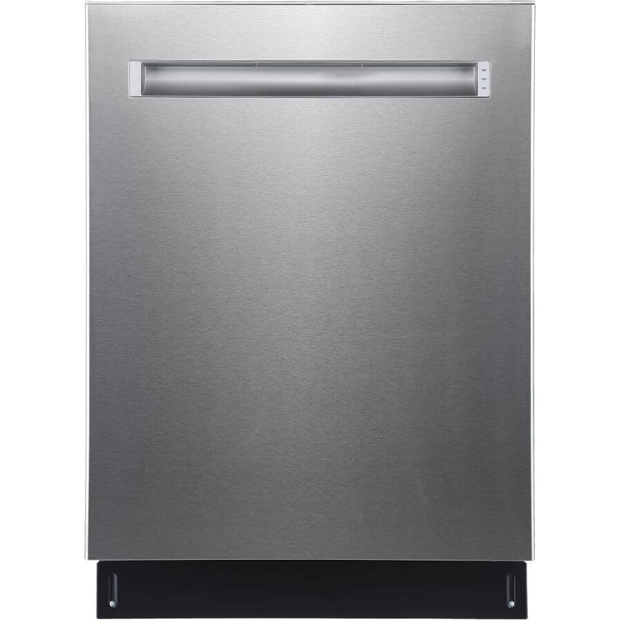 """GE:24"""" Built-In Tall Tub Dishwasher (PBP665SSPFS) - Stainless Steel"""