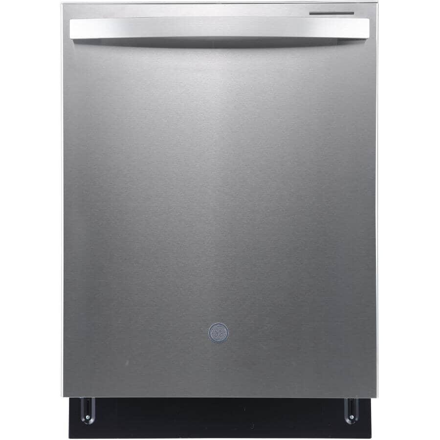 """GE:24"""" Built-In Tall Tub Dishwasher (GBT640SSPSS) - Stainless Steel"""