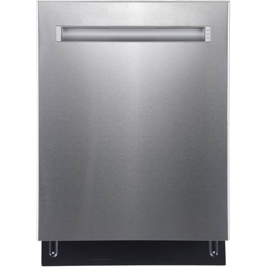 """GE:24"""" Built-In Tall Tub Dishwasher (GBP655SSPSS) - Stainless Steel"""