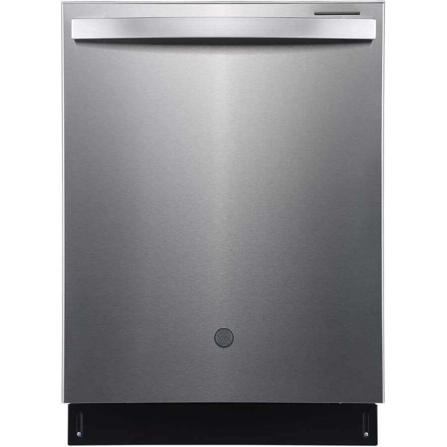 """GE:24"""" Built-In Tall Tub Dishwasher (PBT865SSPFS) - Stainless Steel"""