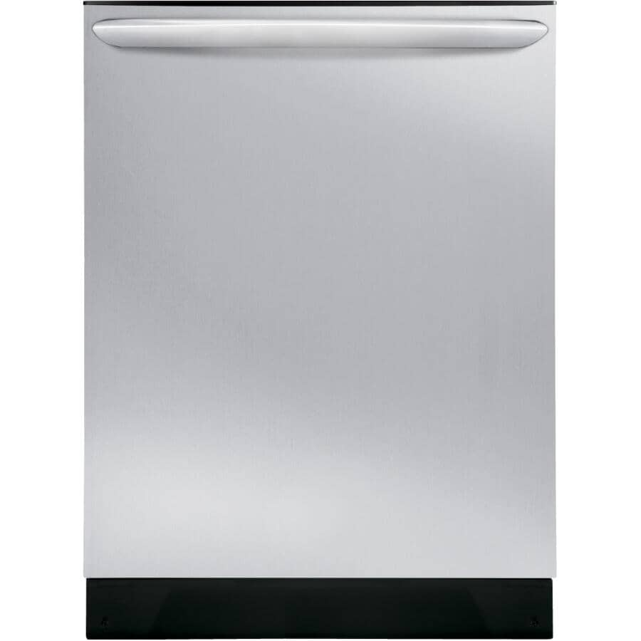 """FRIGIDAIRE GALLERY:24"""" Dishwasher with Built-In Top Control - Stainless Steel + Energy Star"""